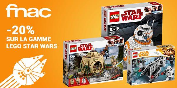 Sur FNAC.com : -20% sur la gamme LEGO Star Wars
