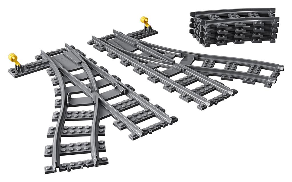 nouveaut s lego city 2018 deux packs de rails pour les amateurs de trains hoth bricks. Black Bedroom Furniture Sets. Home Design Ideas