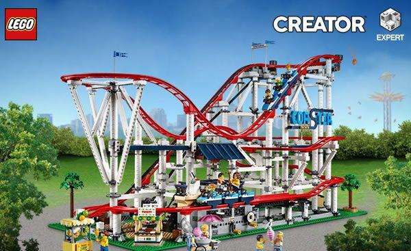 Shop LEGO : Le set LEGO Creator Expert 10261 Roller Coaster est disponible
