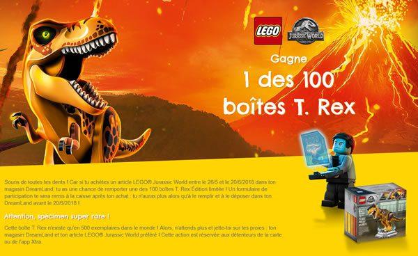 lego dreamland exclusive trex jurassic world