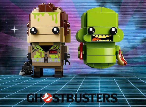 LEGO Ghostbusters BrickHeadz : 41622 Peter Venkman & Slimer