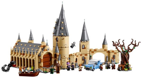 75953 Hogwarts Whomping Willow & 75954 Hogwarts Great Hall