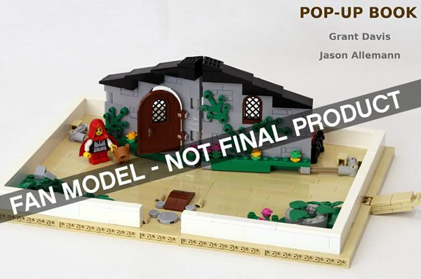 LEGO Ideas : Le prochain set sera le Pop-up Book de JkBrickworks