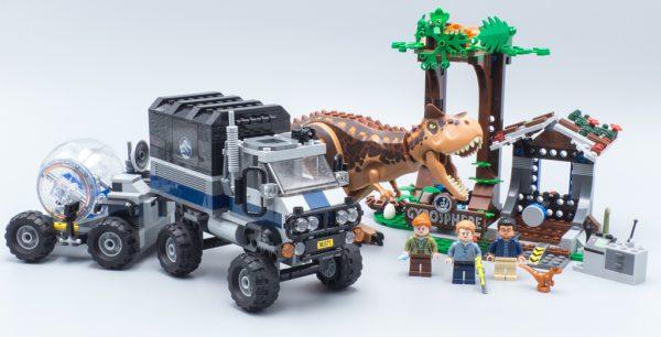 75929 Carnotaurus Gyrosphere Escape