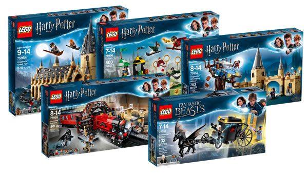 Nouveautés LEGO Harry Potter 2018 : les visuels officiels sont en ligne