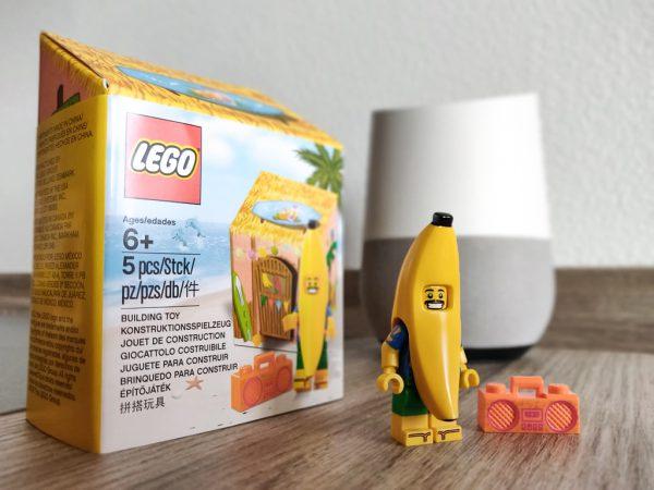 Sur le Shop LEGO : 5005250 Party Banana Minifigure offert dès 30 € d'achat