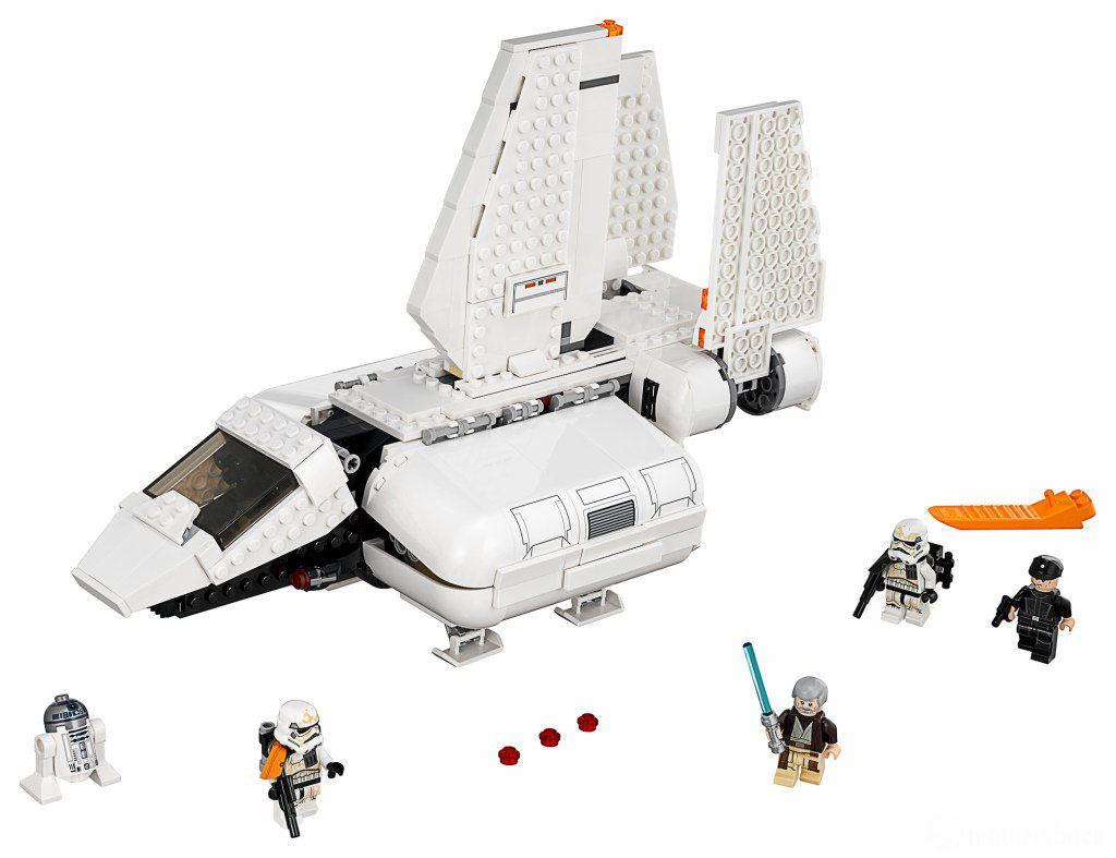 lego star wars 75221 imperial landing craft les visuels officiels hoth bricks. Black Bedroom Furniture Sets. Home Design Ideas