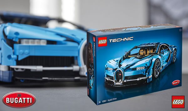 Concours : Un set LEGO Technic 42083 Bugatti Chiron à gagner !