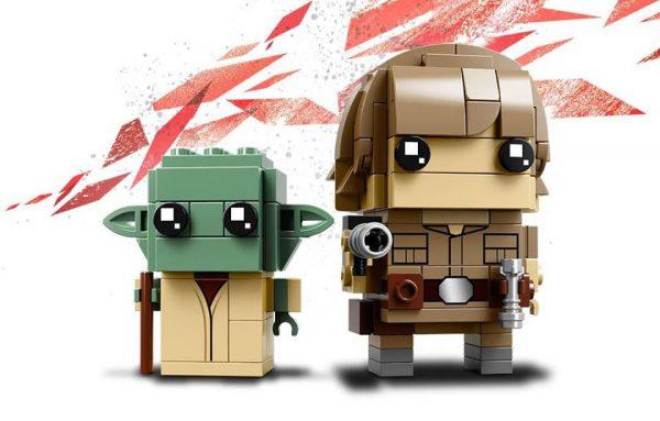 LEGO Star Wars BrickHeadz 41627 Luke & Yoda