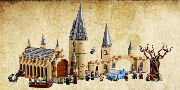 75954 Hogwarts Great Hall et 75953 Hogwarts Whomping Willow