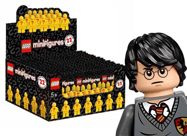 Série de 22 personnages 71022 LEGO Harry Potter : Ce sera 60 sachets par boite