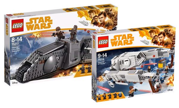 nouveaut s lego star wars 75217 et 75219 les visuels officiels hoth bricks. Black Bedroom Furniture Sets. Home Design Ideas