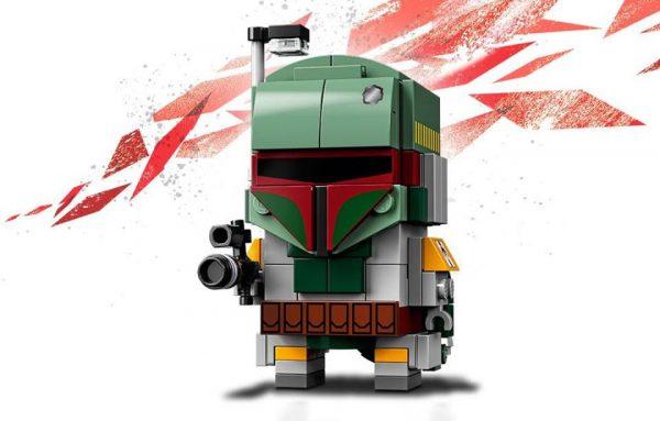 LEGO Star Wars BrickHeadz 41629 Boba Fett