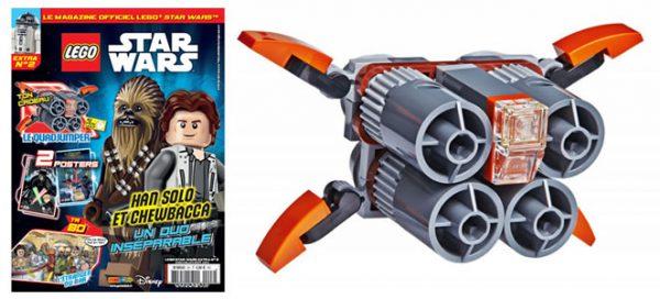 Magazine LEGO Star Wars Extra : Le Quadjumper offert avec le numéro 2
