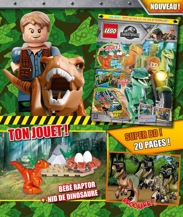 Magazine LEGO Jurassic World : Enfin disponible en France