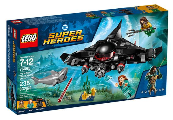 76095 Aquaman Black Manta Strike