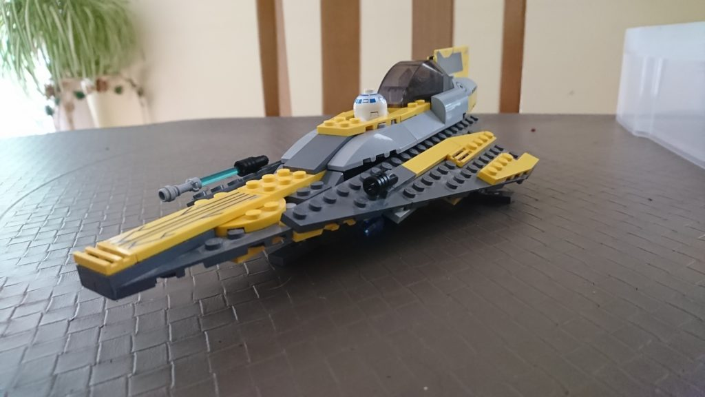 Lego star wars 7669 la vaisseau d 39 anakin hoth bricks - Lego star wars vaisseau anakin ...