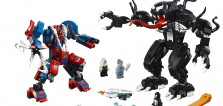 SDCC 2018 : premiers visuels du set LEGO Marvel 76115 Spider-Man Mech vs Venom Mech