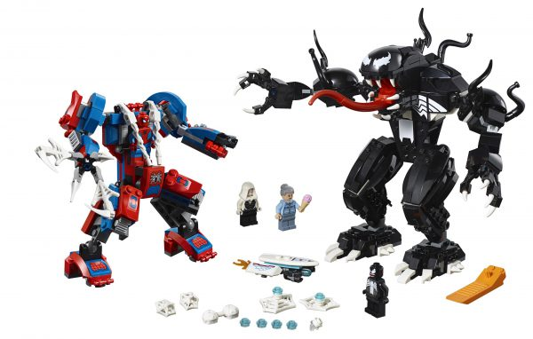 76115 Spider-Man Mech vs. Venom Mech