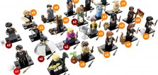 71022 LEGO Harry Potter Collectible Minifigures Series : La répartition par boite de 60 sachets