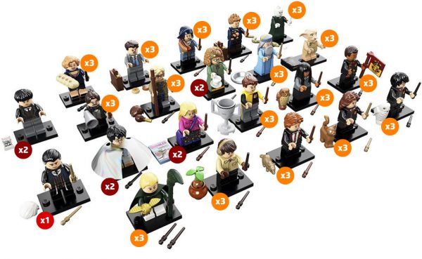 71022 LEGO Harry Potter Collectible Minifigures Series