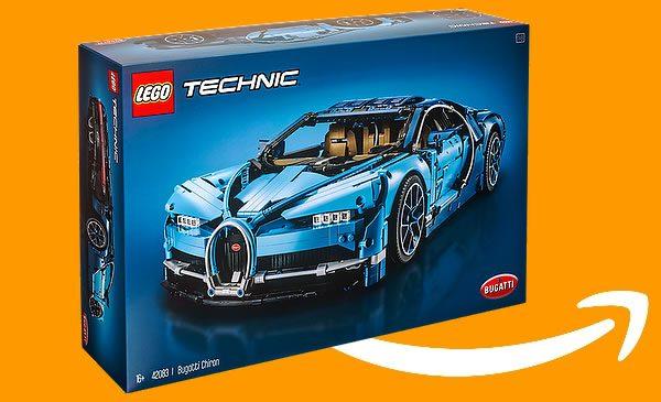 LEGO Technic 42083 Bugatti Chiron : déjà en promo chez amazon