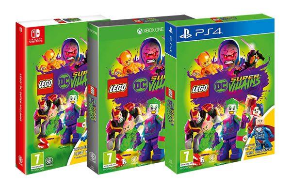 LEGO DC Super-Villains Limited Minifigure Edition
