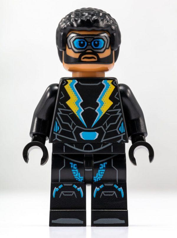 SDCC 2018 - LEGO DC Comics Black Lightning Exclusive Minifigure