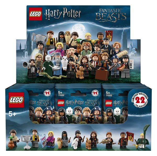 LEGO 6213829 Harry Potter & Fantastic Beasts Collectible Minifigures Series Box
