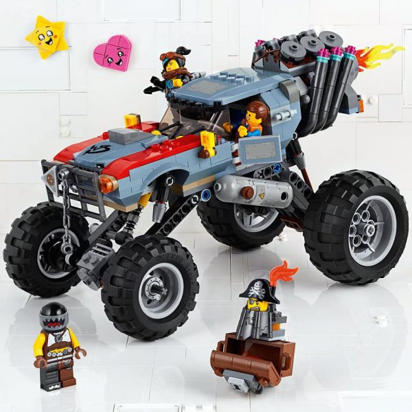 70829  Emmet & Lucy's Escape Buggy