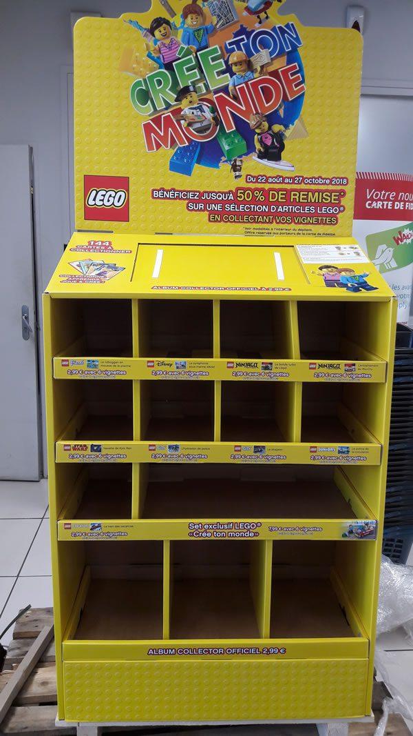 Lego 40256 Create The World Bientôt Chez Auchan Hoth Bricks