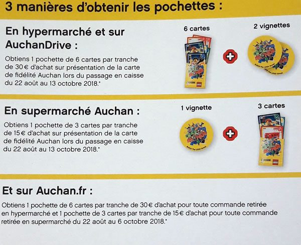 LEGO 40256 Create the World : Bientôt chez Auchan
