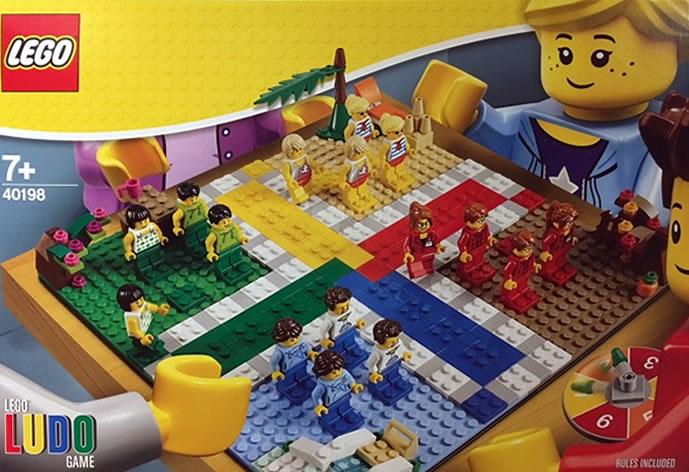 nouveaut lego 2018 40198 ludo game c 39 est comme les petits chevaux hoth bricks. Black Bedroom Furniture Sets. Home Design Ideas