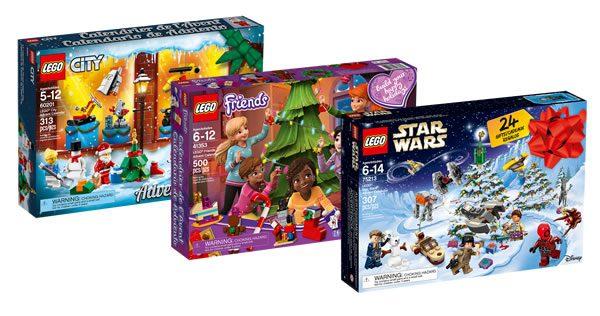 Calendrier De L Avent Lego City 2020.Chaque Jour Est Une Fete Les Calendriers De L Avent
