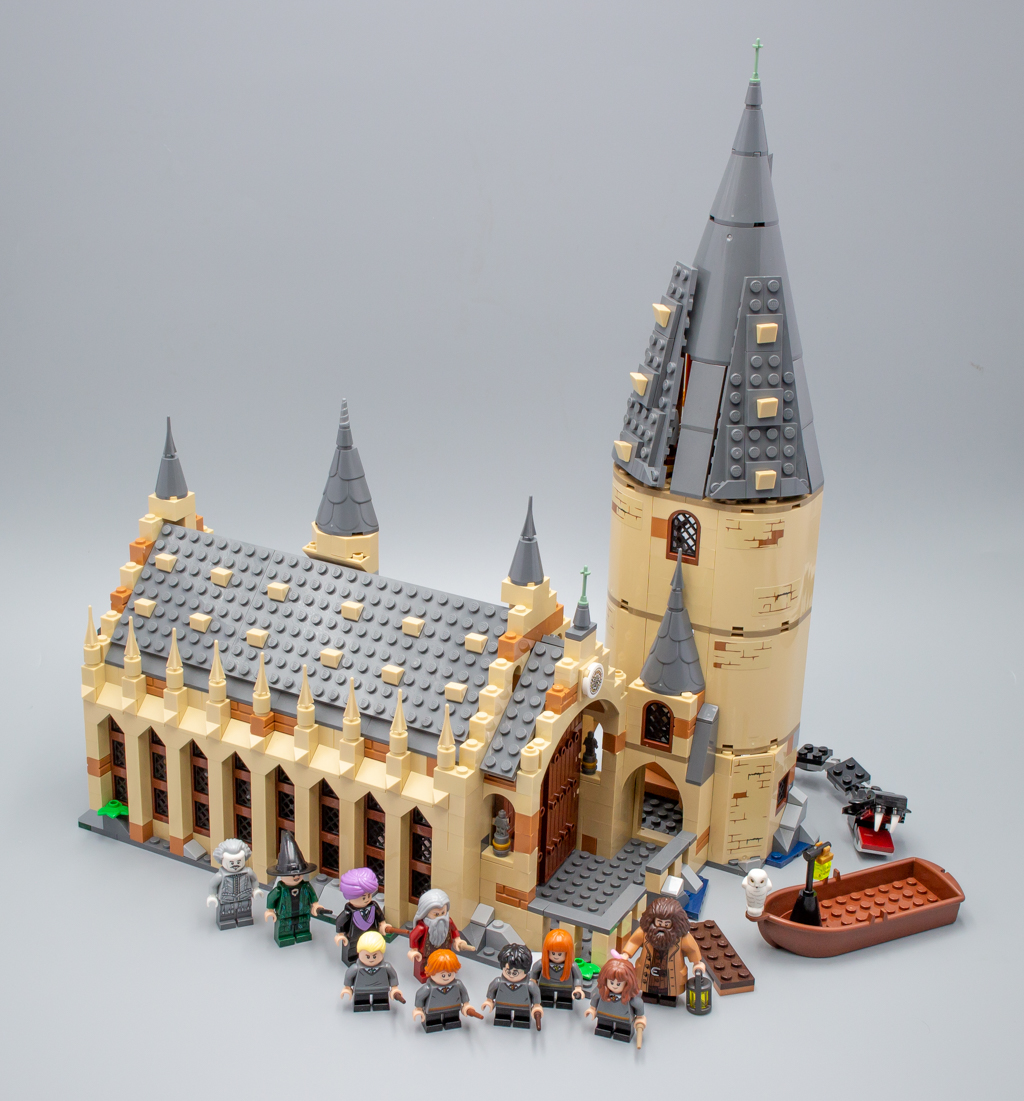 Hedwig la Chouette De 75954 Poudlard Grand Hall Lego Harry Potter