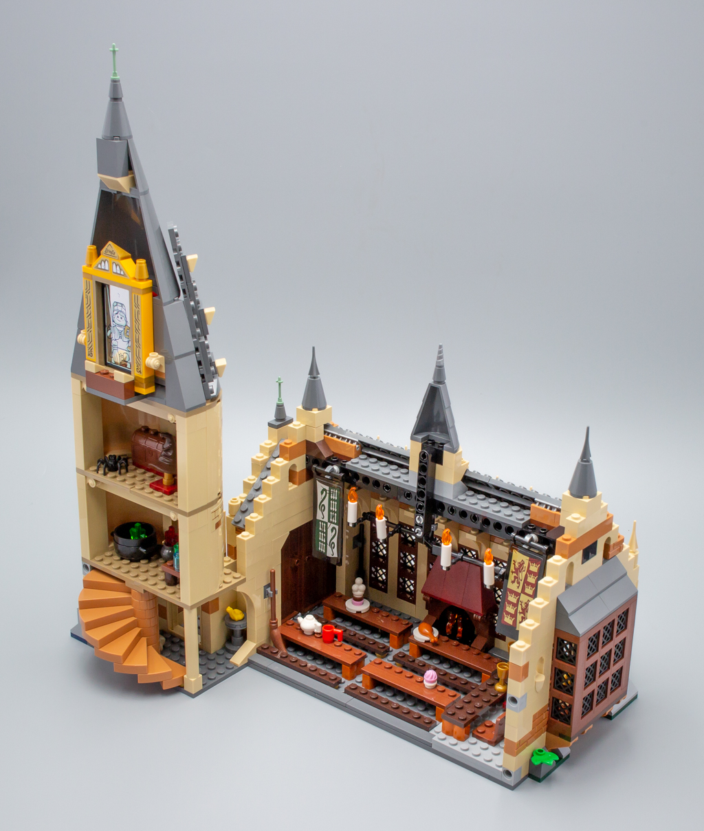 vite test lego harry potter 75954 hogwarts great hall hoth bricks. Black Bedroom Furniture Sets. Home Design Ideas