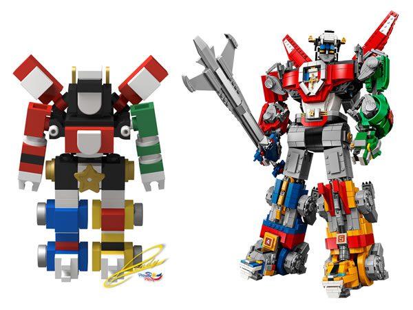 LEGO Ideas 21311 Voltron : Si vous n'avez pas envie d'acheter le gros, construisez le petit