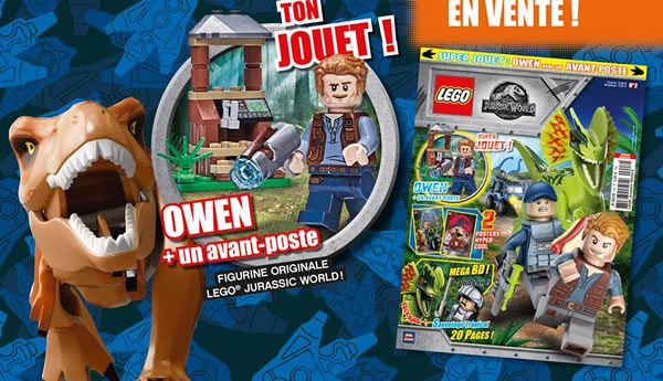 Magazine LEGO Jurassic World : Le N°2 est disponible