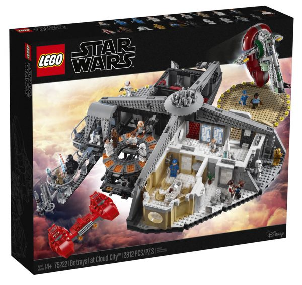 May The 4th Be With You Lego 2018: LEGO Star Wars 75222 Betrayal At Cloud City : Tout Ce Qu