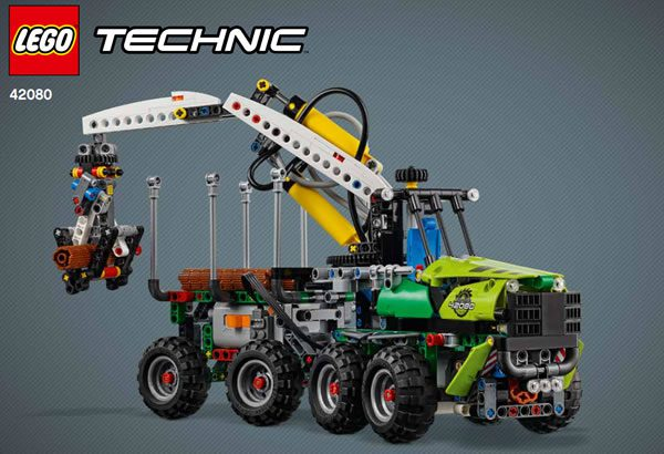 LEGO Technic 42080 Forest Machine (Alternate Model)