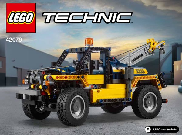 LEGO Technic 42079 Heavy Duty Forklift B-Model