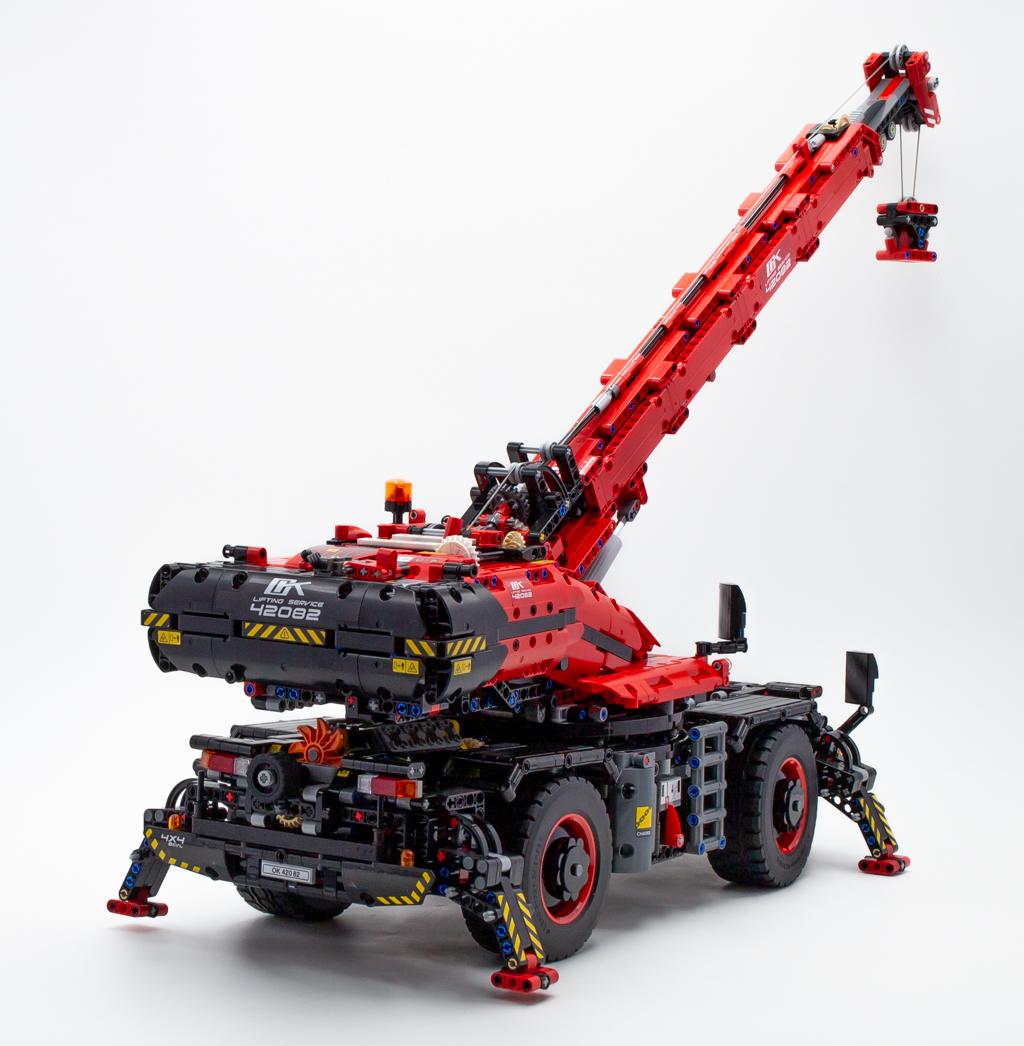 vite test lego technic 42082 rough terrain crane hoth. Black Bedroom Furniture Sets. Home Design Ideas
