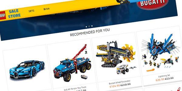 Attention aux fausses boutiques en ligne LEGO vues sur facebook