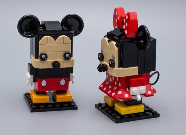 LEGO BrickHeadz 41624 Mickey Mouse et 41625 Minnie Mouse