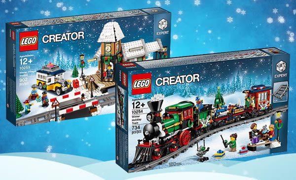 LEGO Creator Expert Winter Village : la gare et le train sont à nouveau disponibles