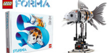 LEGO FORMA 81000 Koï : les instructions sont disponibles