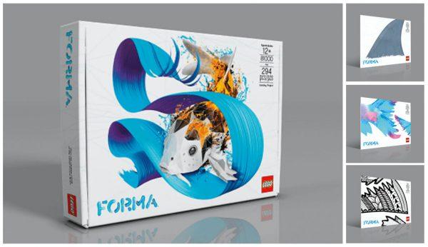 LEGO FORMA 81000 Koï