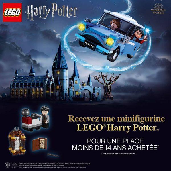 Le polybag LEGO 30407 Harry's Journey to Hogwarts offert dans ton cinéma