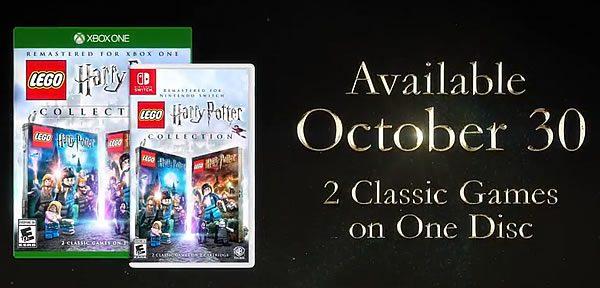LEGO Harry Potter Collection : bientôt disponible aussi sur Xbox One et Nintendo Switch