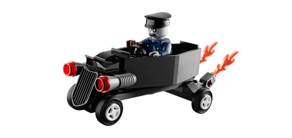 LEGO Monster Fighters 30200 Zombie Coffin Car